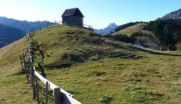 Tannheimertal Zöblen Tyrol Roteflueh Gimpel Log Ca