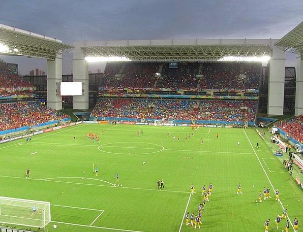 Stadium Arena Biosphere World Cup World Bleachers