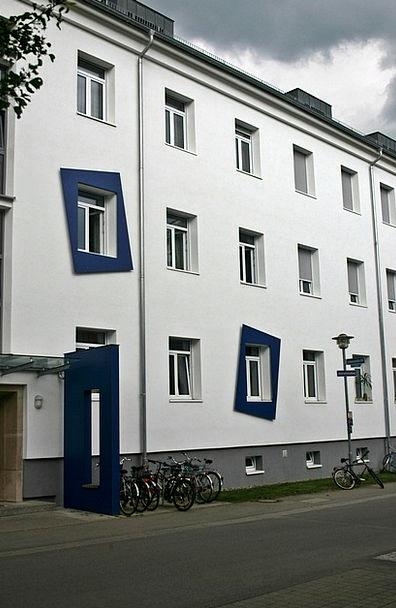 Tübingen Buildings Dormitory Architecture French Q