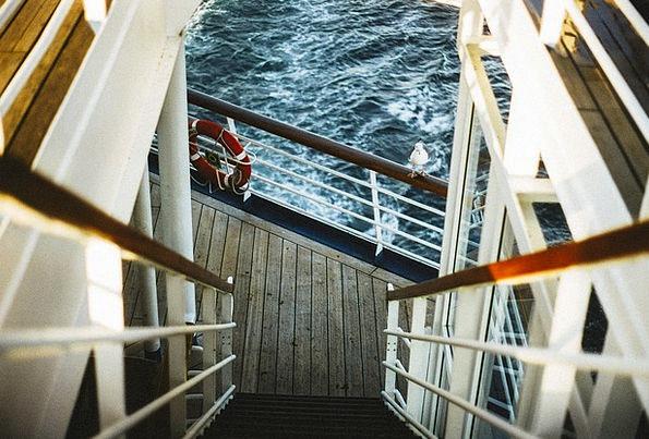 Guardrail Handrail Vacation Fence Travel Ship Vess