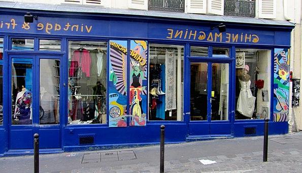 Paris Montmartre Old Business France