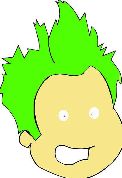 Punk Inferior Lad Teen Teenage Boy Free Vector Gra