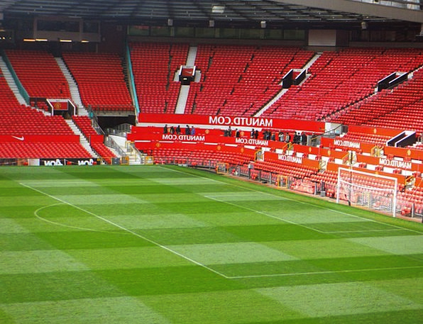 Stadion Manchester United Old Trafford Grass Footb