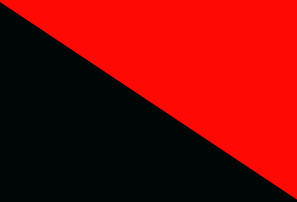 Anarchists Revolutionaries Standard Red And Black