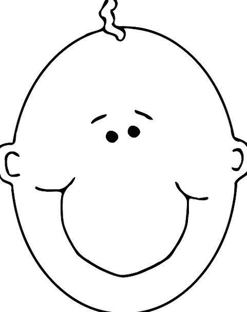 Baby Darling Bare Head Skull Bald Newborn Smiling
