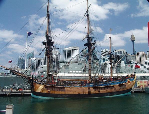 Endeavour Ship Vessel Captain Cook Sail Sailing Ve