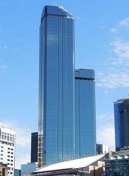 Melbourne Buildings Architecture Rialto Towers Aus