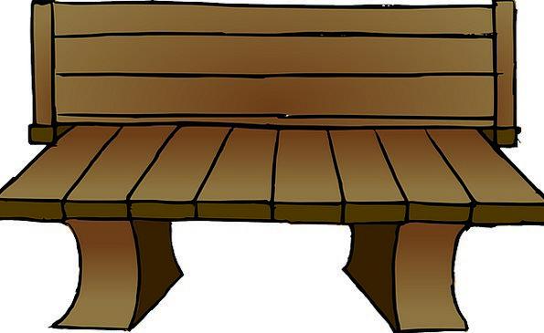 Wooden Timber Seat Garden Plot Bench Wood Long Par