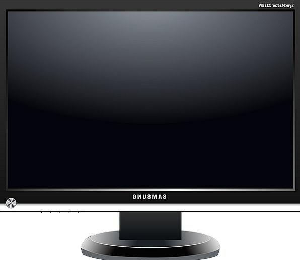 Tv Trademark Symbol Lcd Hd Monitor Screen Flat The