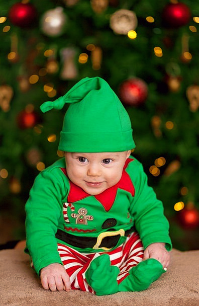 Baby Darling Lad Child Youngster Boy Happy Christm