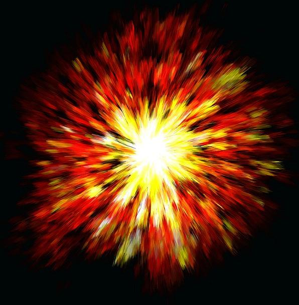 Explosion Bang Textures Backgrounds Pop Popular Bi