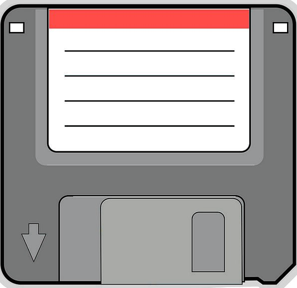 Floppy Disc Communication Limp Computer Storage St