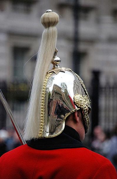 Guard Protector Gentleman Helmet Hat Man Plume Tra