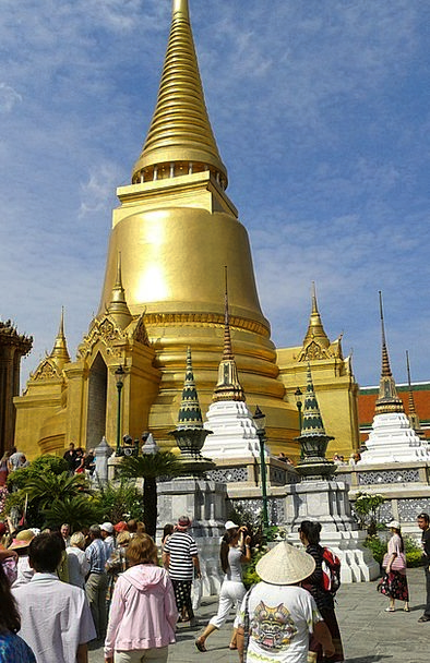 Buddhist Temple Royal Palace Buddhism Bangkok Gold