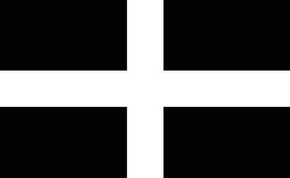 Cornwall Standard Uk Flag United Kingdom Cornish S