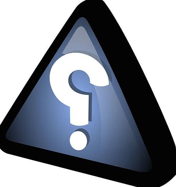 Triangle Threesome Azure Black Dark Blue Question