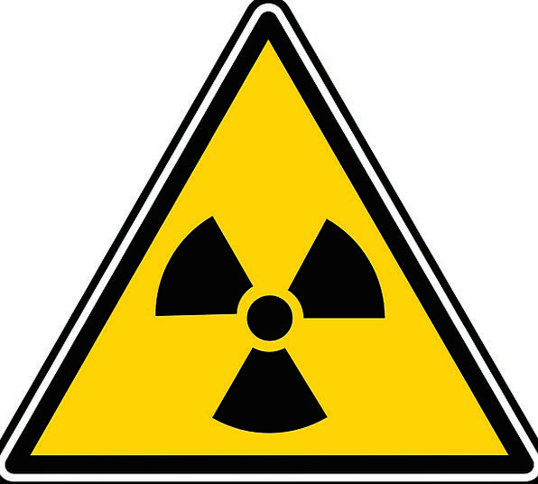 Nuclear Atomic Region Sign Zone Dangerous Symbol S