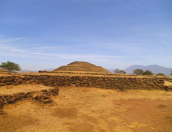 Teotihuacan Buildings Architecture Aztecs Pyramid
