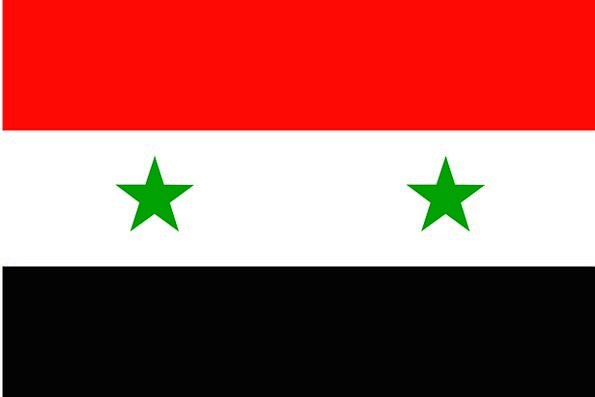 Syrian Standard Arab Flag Free Vector Graphics Rep