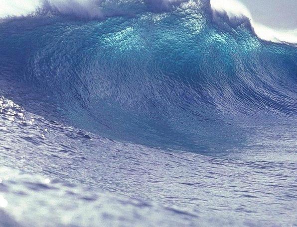 Wave Upsurge Aquatic Sea Marine Water Shimmer Tsun