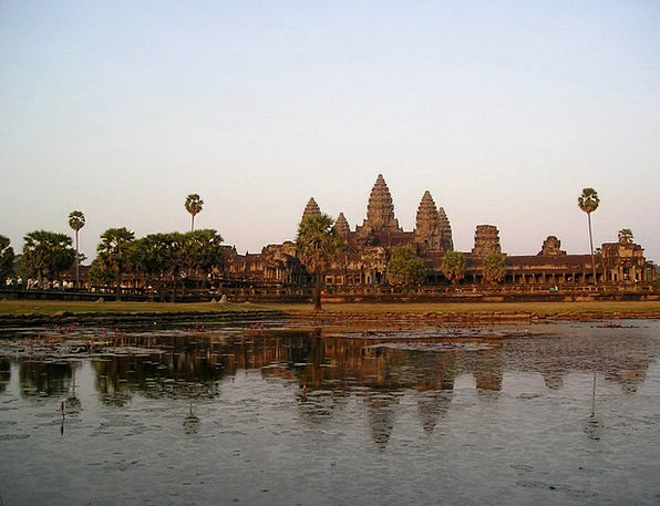 Angkor Cambodia Wat Temple Shrine Southeast Asia S
