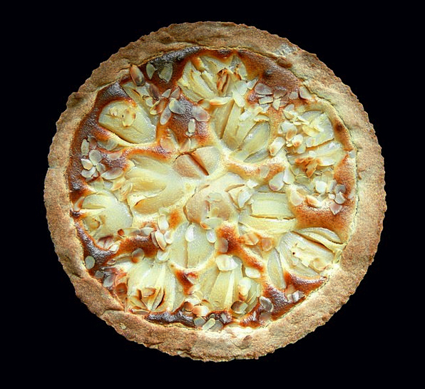 Pie Tart Drink Food Baked Parched Pear Tasty Food
