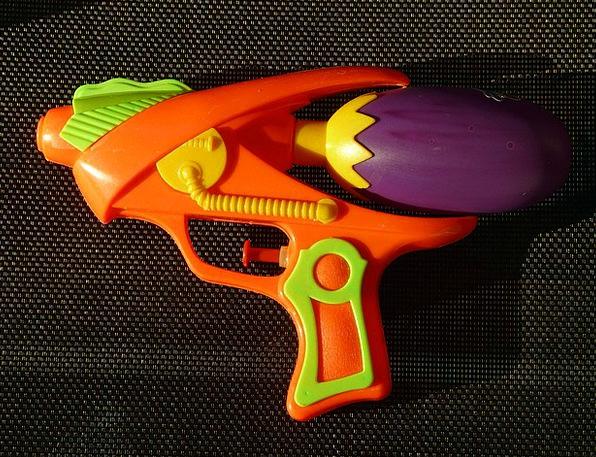Water Gun Airbrush Pistol Gun Spray Gun Toys Dolls