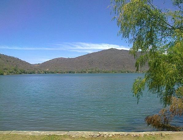Laguna Freshwater Sky Blue Lake Water Aquatic Mexi