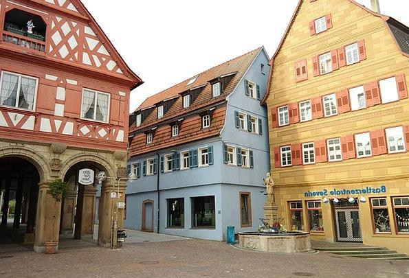 Waiblingen Buildings Architecture Center Midpoint