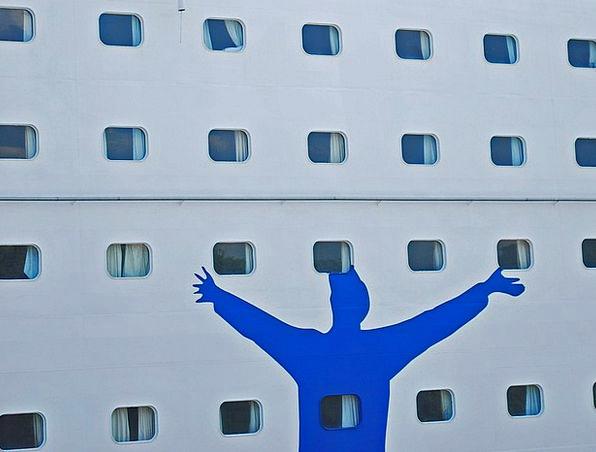 Boat Ship Silhouette Outline Oslo Windows Gaps Tra