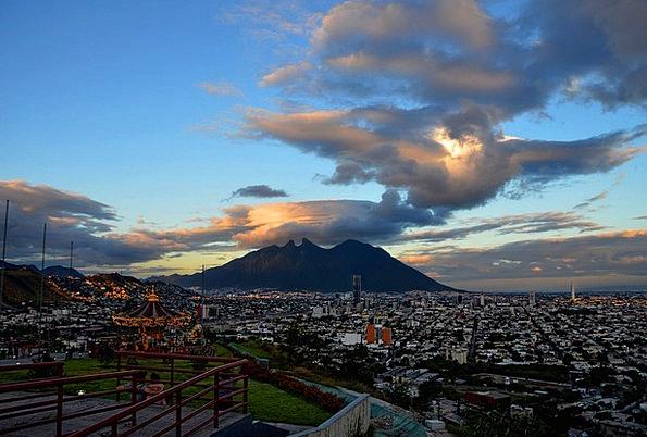 Monterrey Landscapes Mist Nature Cerro Cloud Dusk