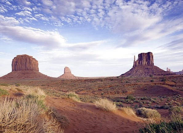 Monument Valley Landscapes Stonework Nature Buttes