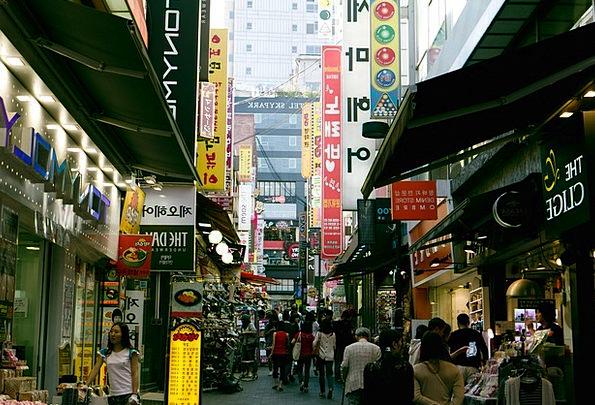 Namdaemun Buildings Marketplace Architecture Myeon