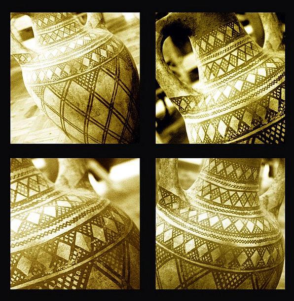Morocco Urn Pottery Ceramic Vase Crafts Skills