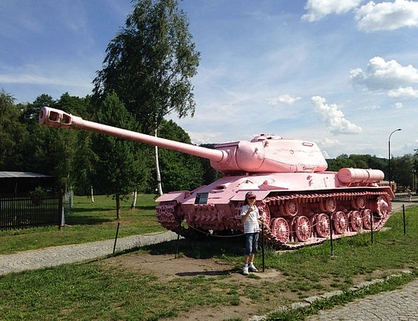 Tank Cistern Gallery Pink Tank Museum Lesany Milit