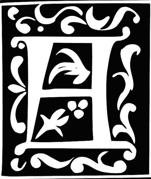 Monogram Symbol Communication Initial Early Letter