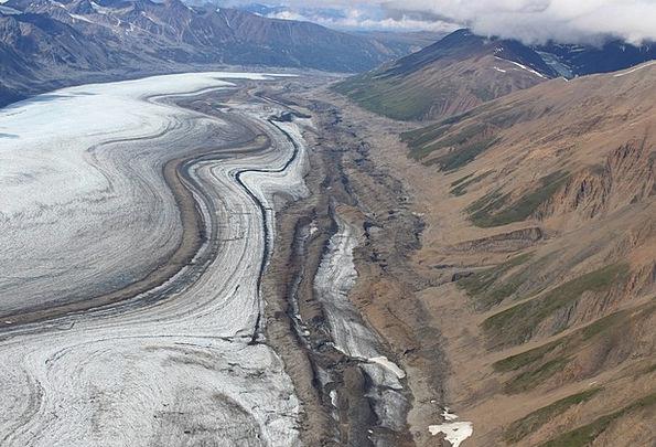 Kluane National Park Landscapes Nature Yukon Glaci