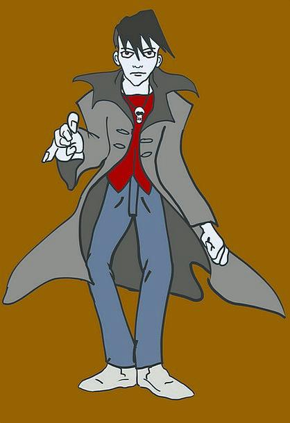 Vampire Parasite Masculine Man Gentleman Male Fant
