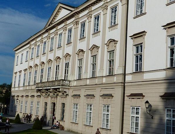 Mirabell Palace Buildings Architecture Salzburg Mi