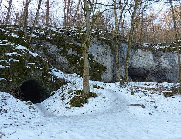 Hohlenstein Lonetal Limestone Massif Aurignacian A