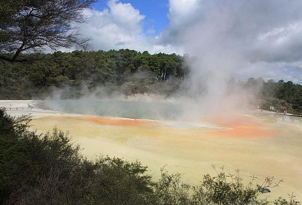 Hot Springs Volcanic Rotorua Sulphur Geothermal Mi