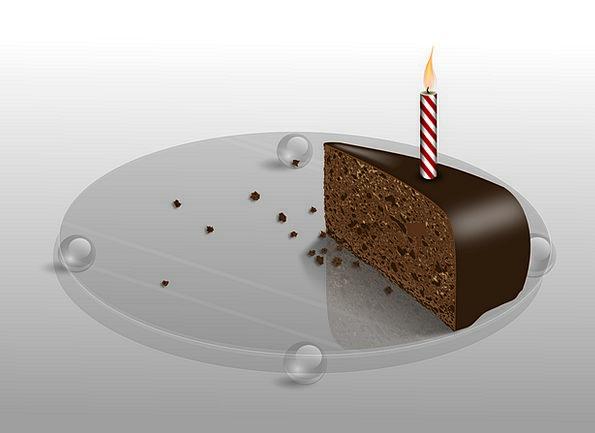 Cake Bar Birthdate Candle Taper Birthday Sweet Sug