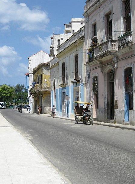 Havana Traffic Transportation Road Street Cuba Hou