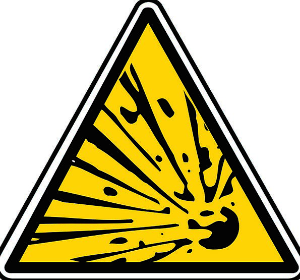 Sign Short-tempered Explosion Explosive Symbol Dan