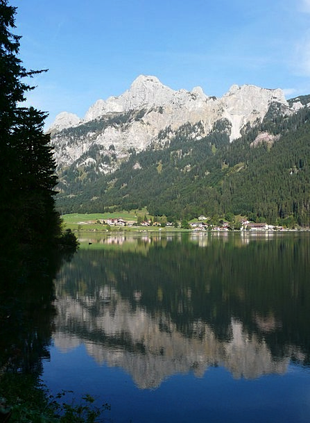 Haldensee Landscapes Nature Alpine Mountainous All