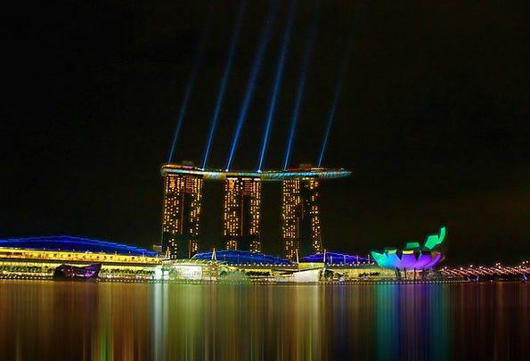 Singapore Buildings Urban Architecture Seaside Coa