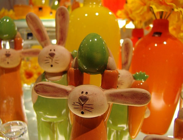 Easter Earthenware Easter Exhibition Ceramic Orang