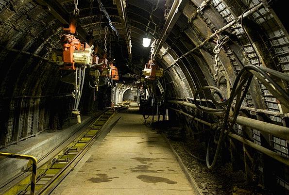 Mine Pit Subversive Machine Mechanism Underground