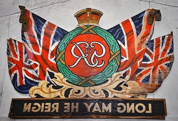 Flag Standard Country Republic United Kingdom Brit