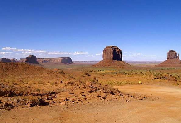 Monument Valley Landscapes Nature Usa Utah Dusty D